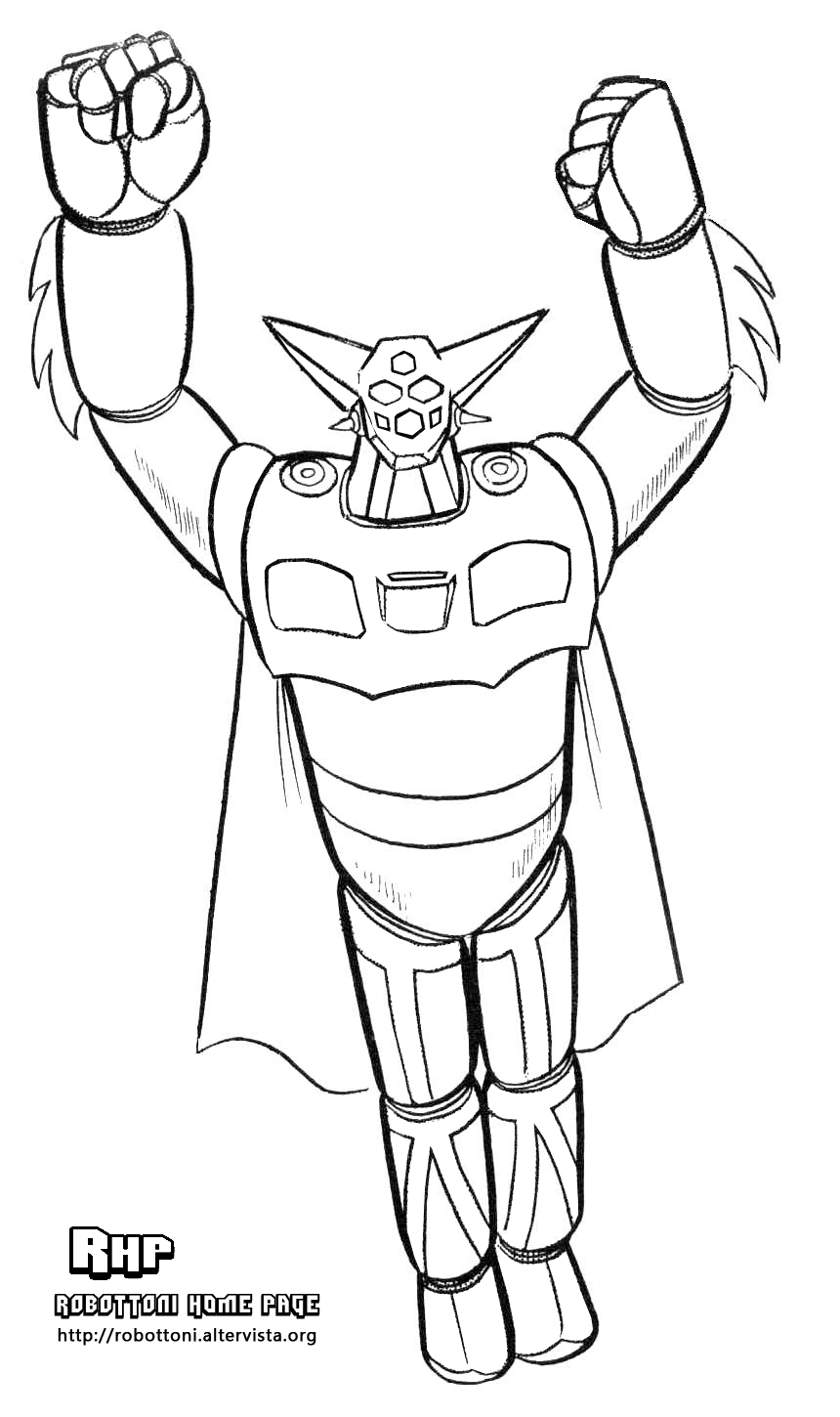 mazinger z coloring pages - photo#21